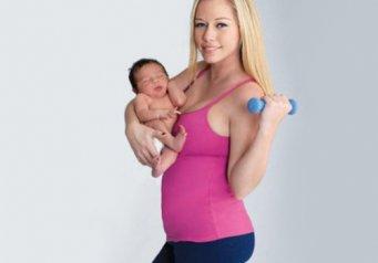 Когда можно заниматься спортом после родов