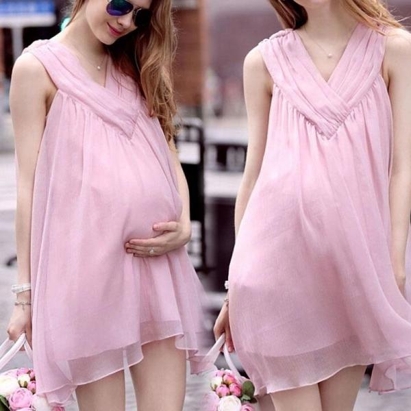 Платье во время беременности – актуальные решения