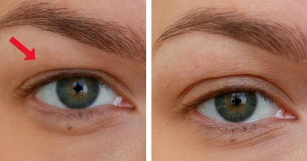Как с помощью макияжа приподнять нависшее веко