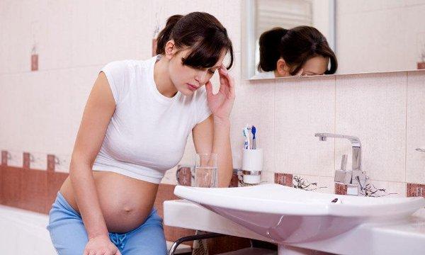 Что делать если возник запор при беременности