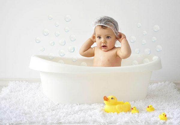 Основные правила и ошибки при купании малыша