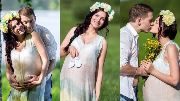 Идеи фотосессий с участием будущих мам