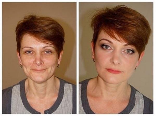 Лифтинг макияж: как выглядеть моложе с помощью косметики