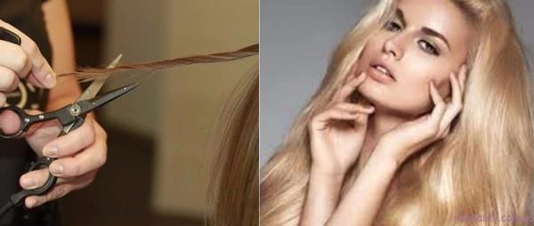 Как парикмахеры наживаются на сеченых волосах, пытаясь вылечить их