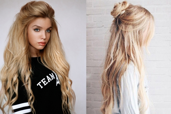 5 стильных укладок на длинные волосы, которые можно сделать самостоятельно