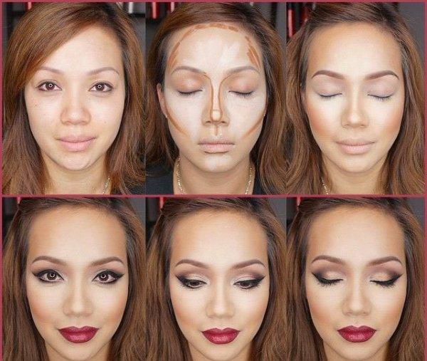 Корректируем овал лица с помощью макияжа
