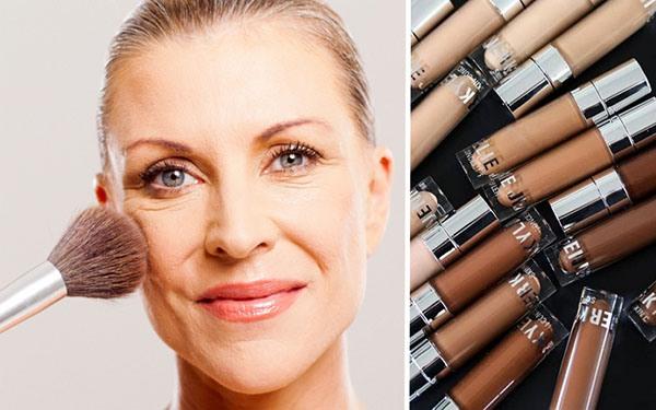 Как подобрать тональный крем для зрелой кожи