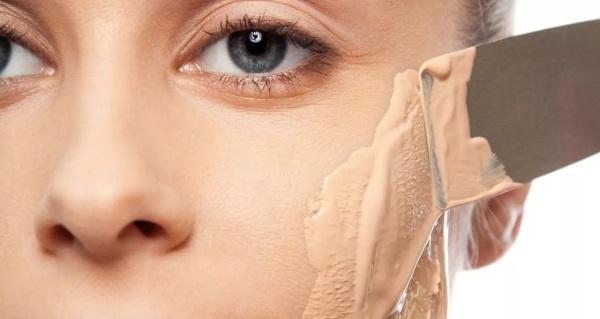 Ошибки в использовании тонального крема