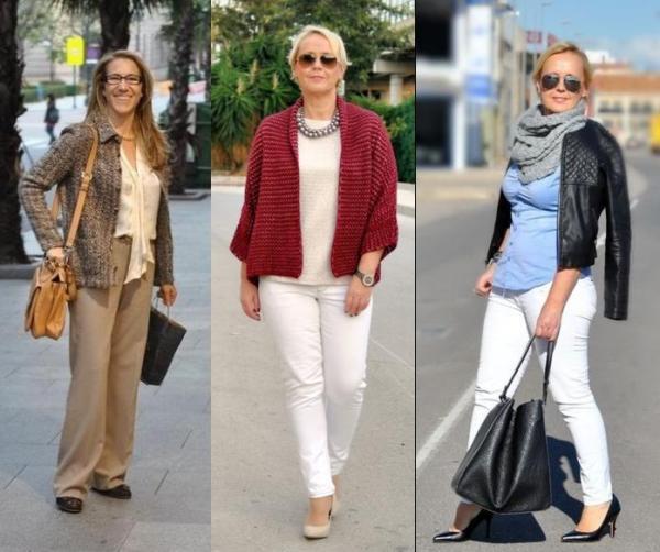 7 модных весенних образов для женщин 50 лет
