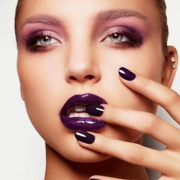 Почему не стоит пользоваться модными фиолетовыми и темно-коричневыми помадами