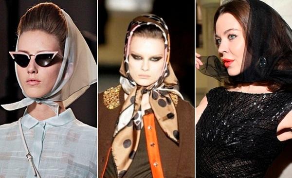 Как носить платок, чтобы не выглядеть деревенщиной
