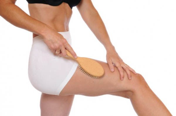 Как делать массаж сухой щеткой