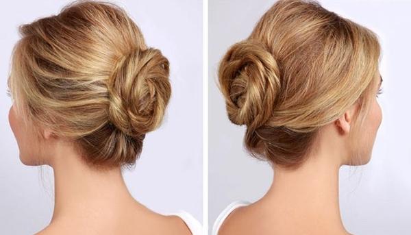 Как быстро и красиво уложить волосы на среднюю длину