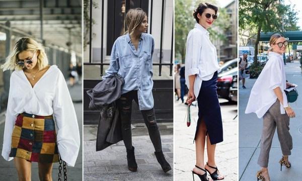 Как не испортить образ одеждой oversize