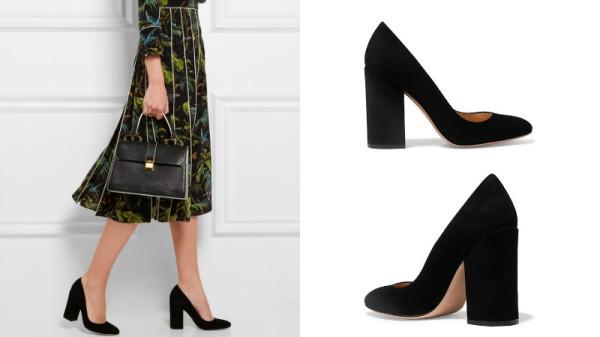 Лодочки на толстом каблуке – красивый компромисс между удобством и женственностью