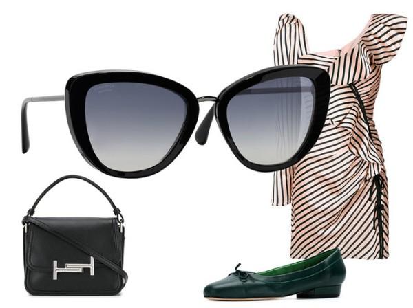 5 модных образов с солнцезащитными очками