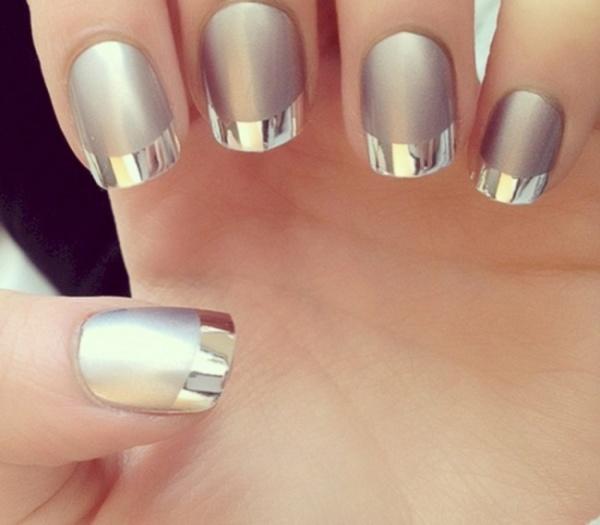 Френч со втиркой для ногтей – дизайн на все случаи жизни