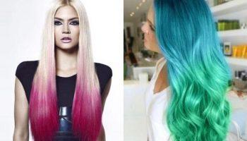 Как самостоятельно покрасить кончики волос в домашних условиях