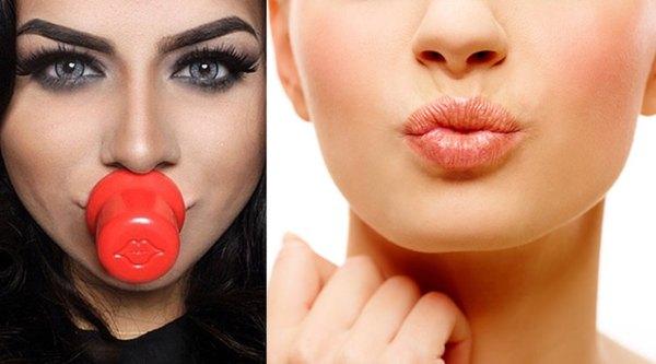 Как сделать губы пухлее без инъекций