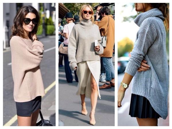 Как выбирать и с чем носить вещи в стиле оверсайз