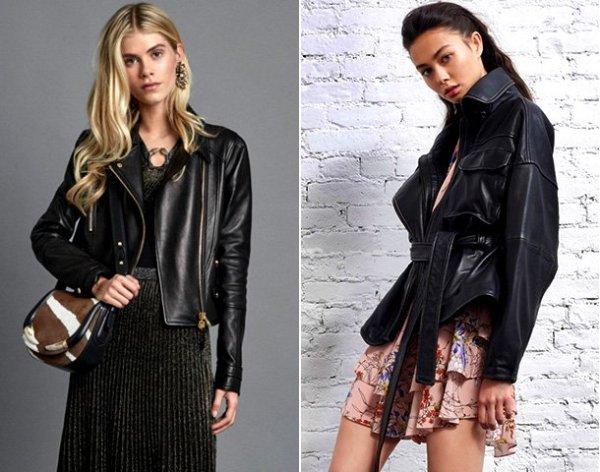 Идеальная посадка: 5 правил выбора стильной кожаной куртки