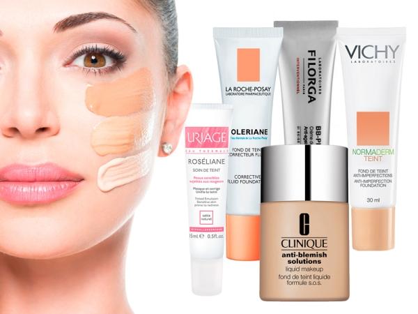 Ошибки в выборе тонального крема для проблемной кожи