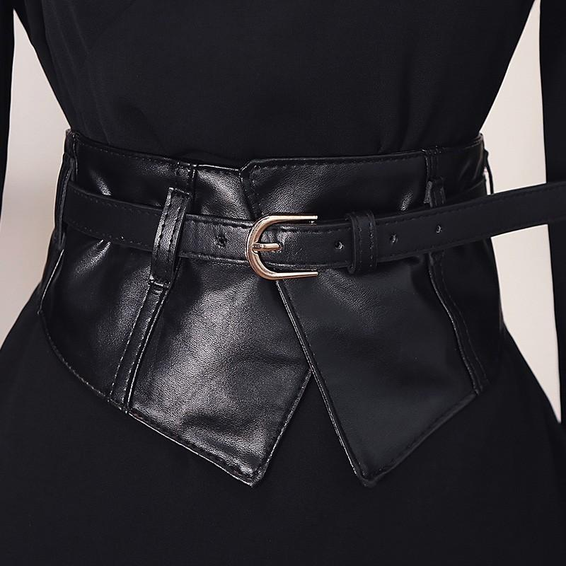 Как правильно носить широкий пояс и баску