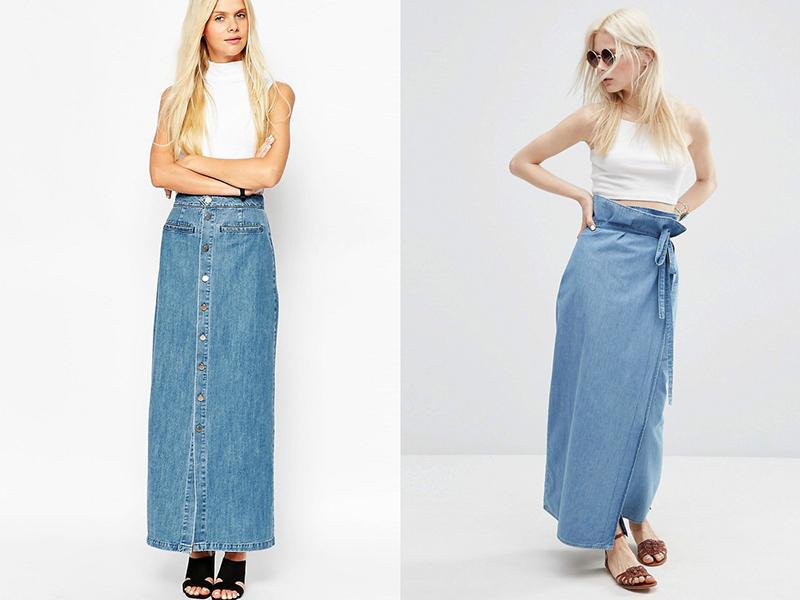 Джинсовая юбка: базовая вещь гардероба на все времена
