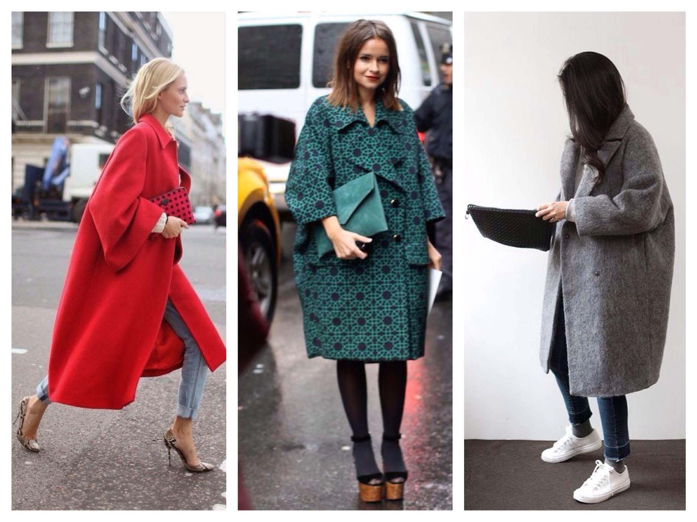 Основные правила комбинирования платья и верхней одежды