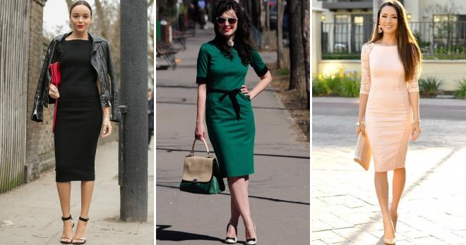 С каким типом фигуры не стоит выбирать платье-чулок