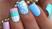 10 красивых идей маникюра на ногти круглой формы