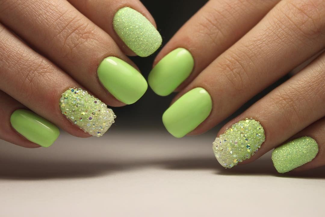 Идеи сочного летнего маникюра для длинных и коротких ногтей
