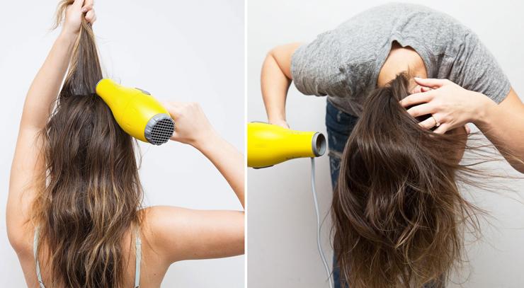 Как создать прикорневой объём на тонких волосах