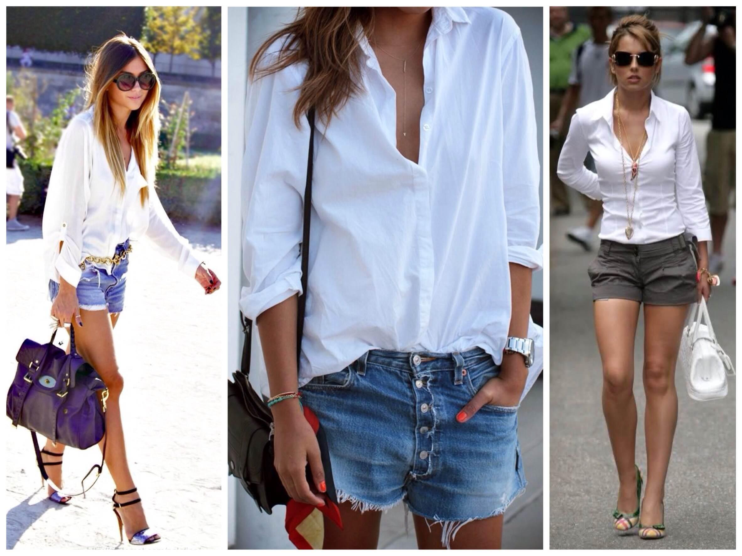 5 вариантов, когда белая рубашка уместна не только в офисе