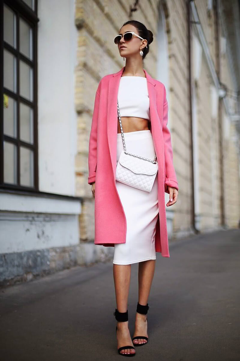 С чем модно носить розовое этим летом