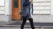 Как носить чёрные леггинсы и с чем их сочетать