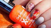 15 идей маникюра на осень для коротких ногтей