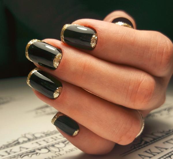 15 стильных идей маникюра на осень для коротких ногтей