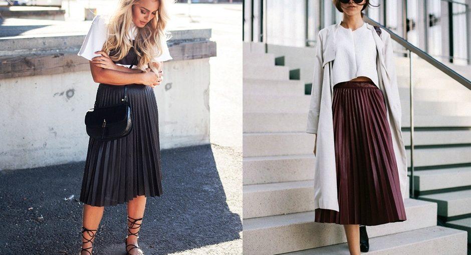 5 стильных способов носить плиссированную юбку этой осенью