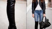 С какой обувью не нужно носить брюки этой зимой. 5 примеров