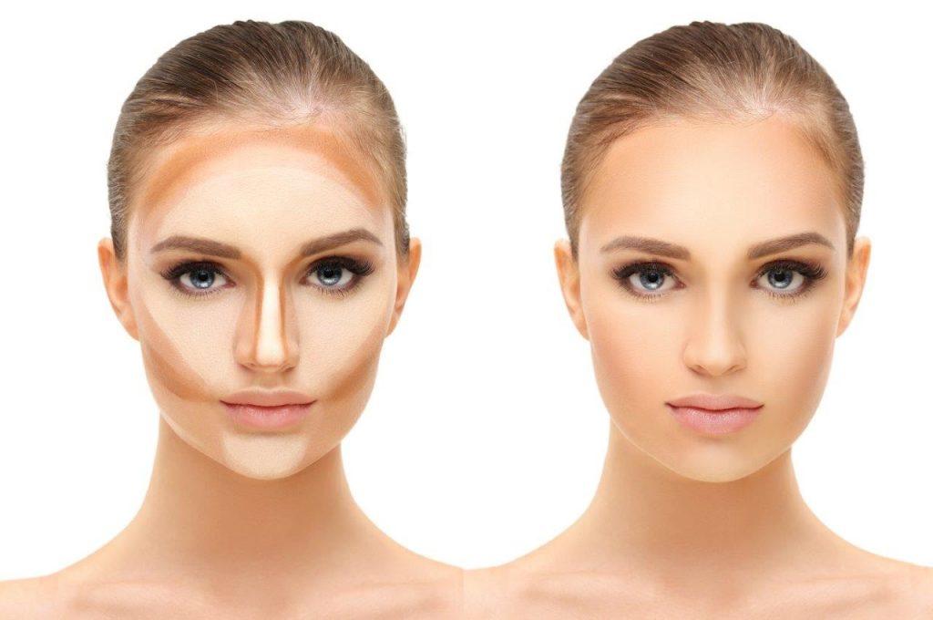 Как с помощью макияжа зрительно уменьшить нос. Примеры визажистов