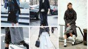 С чем носить платья и юбки-миди и выглядеть превосходно этой зимой
