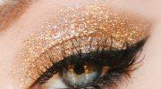 5 идей новогоднего макияжа для зелёных глаз