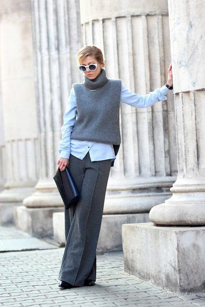 Как одеваться в офис зимой, чтобы не быть серой мышкой. 7 стильных примеров