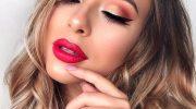 5 идей новогоднего макияжа для карих глаз