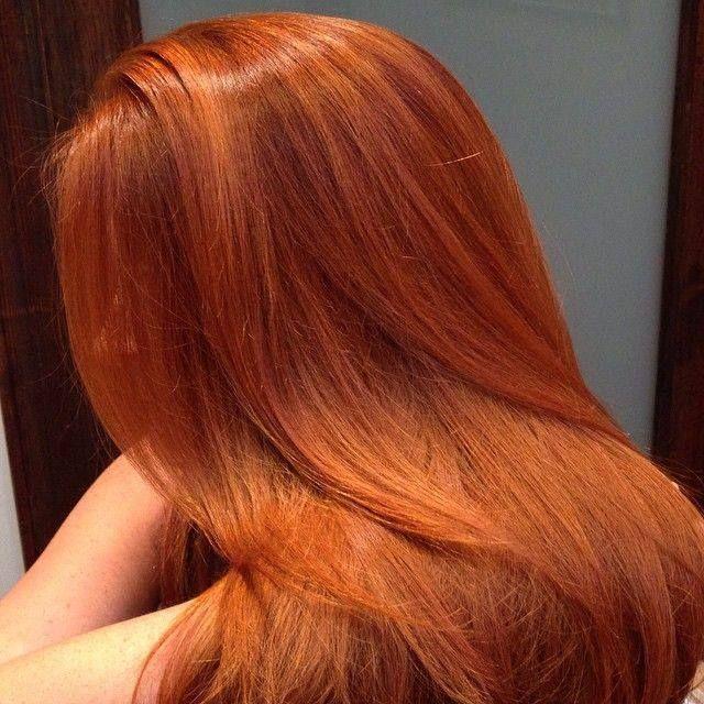 Как вывести рыжий пигмент из волос в домашних условиях