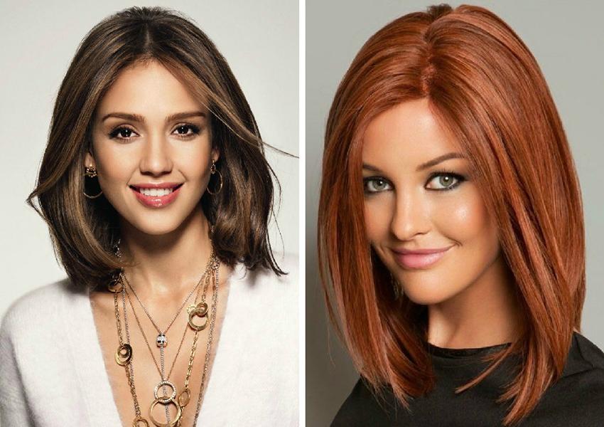 Как определить идеальную длину волос под форму лица