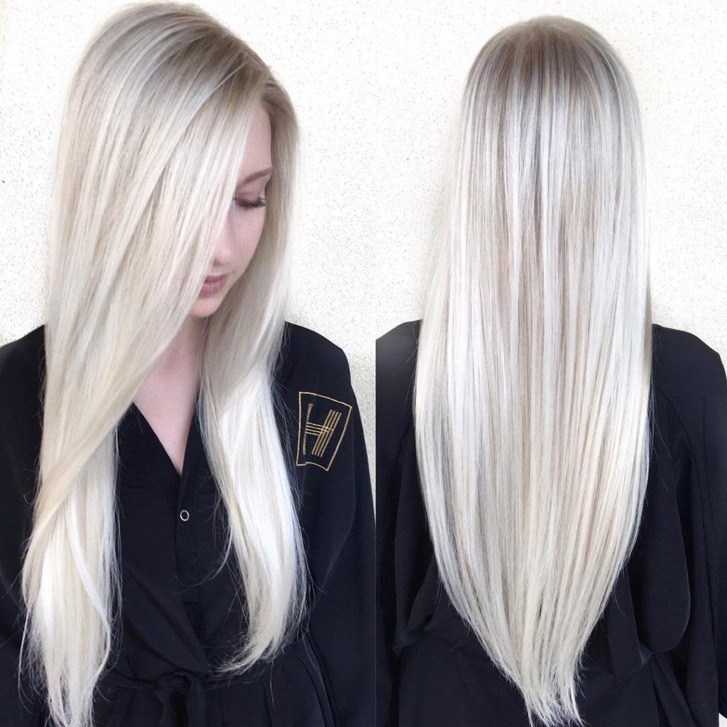 Как тонировать жёлтый блонд в домашних условиях