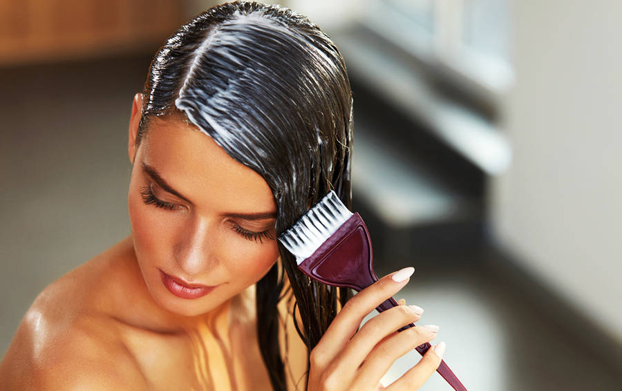 Как сделать дома горячую маску-обертывание для увлажнения волос