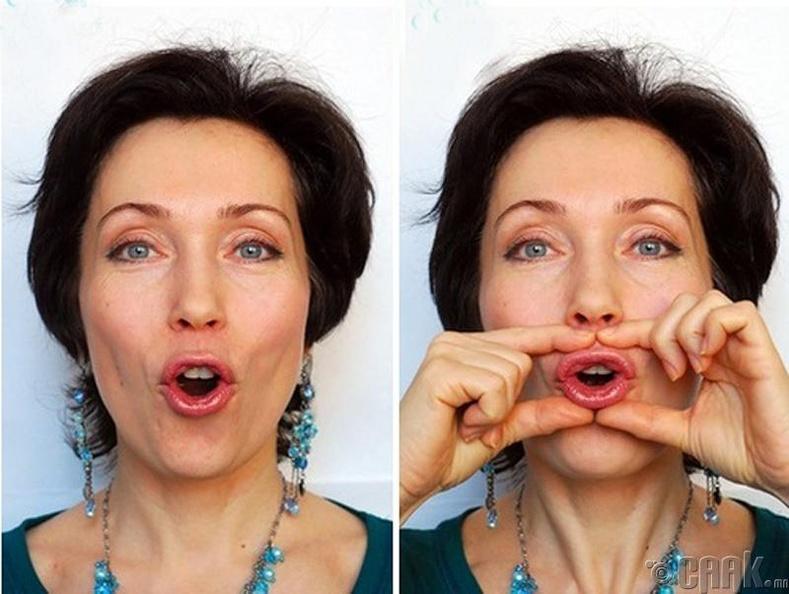 3 упражнения фейс-фитнеса для пухлых губ без инъекций